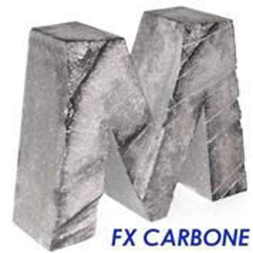 Immagine di Lettera 3D Effetto Carbone
