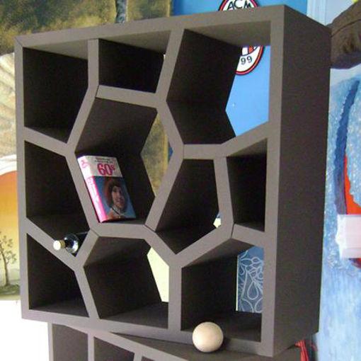 Immagine di Espositore in Polistirolo effetto nido d'ape