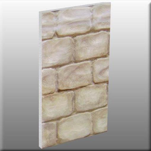 muro fantasy, indurito per rivestimenti scenici