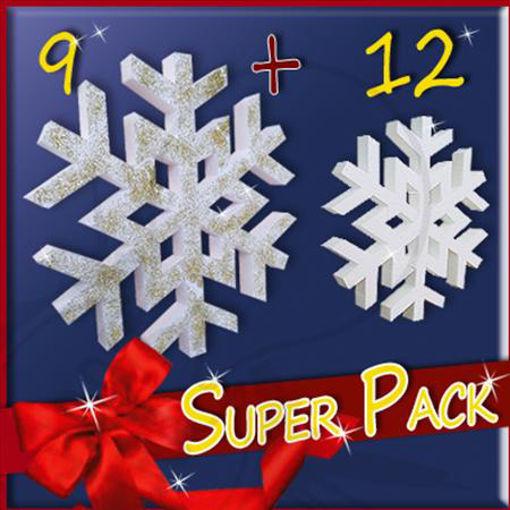 Immagine di Super Pack Fiocchi di Neve