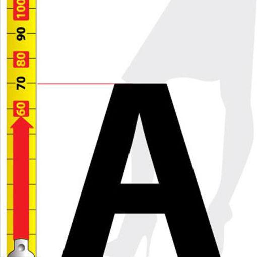 Immagine di lettere da 70cm