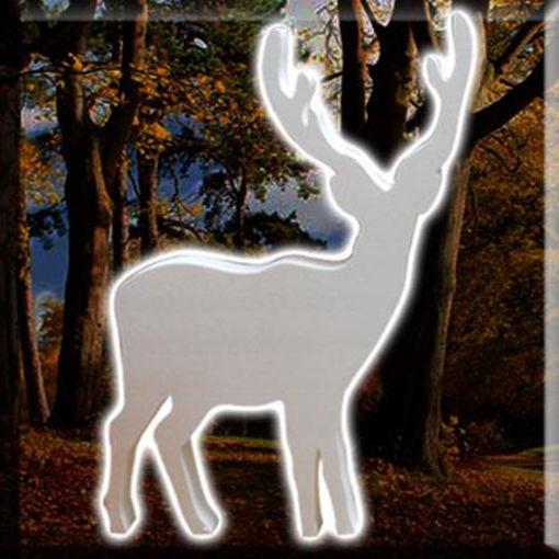 splendida renna da 100cm elegante