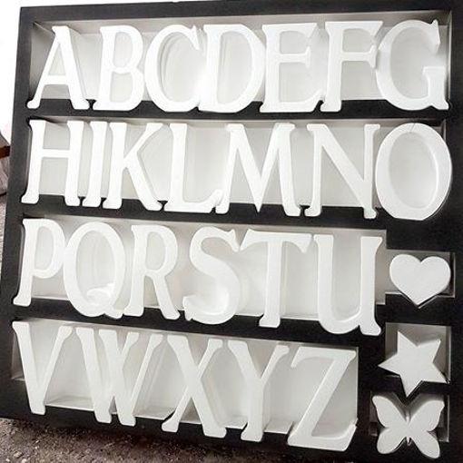 tutto l'alfabeto per voi :) SPAZIO ALLA CREATIVITà