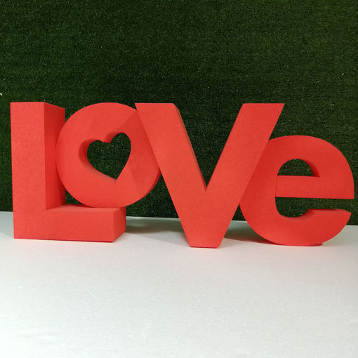 Immagine di Scritta LOVE in Polistirolo