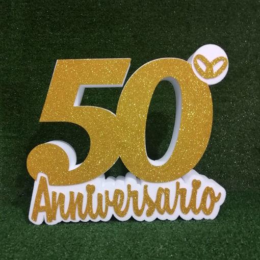 Immagine di 50° Anniversario in Polistirolo