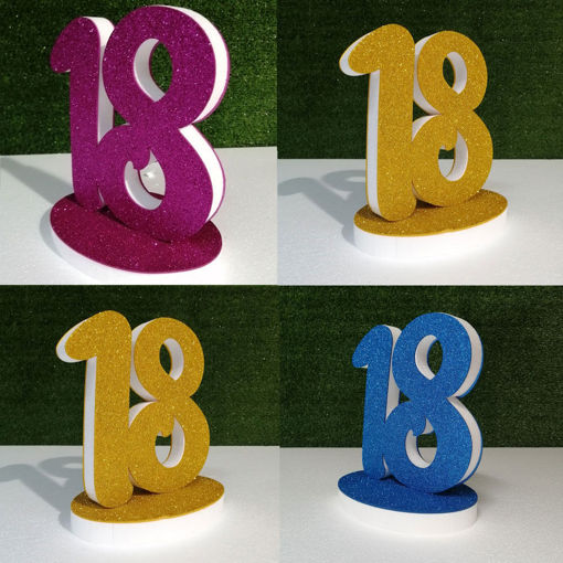 Immagine di Numeri Deco colore standard in Polistirolo