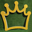 Immagine di Photo Booth a Forma di Corona in Polistirolo