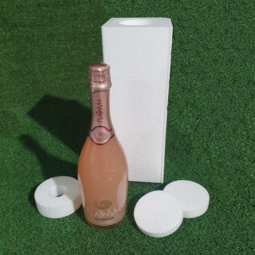 Immagine di Packaging Antiurto per Bottiglie in Polistirolo