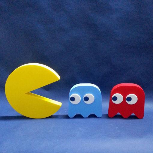Immagine di Set Iconico Pac Man in Polistirolo