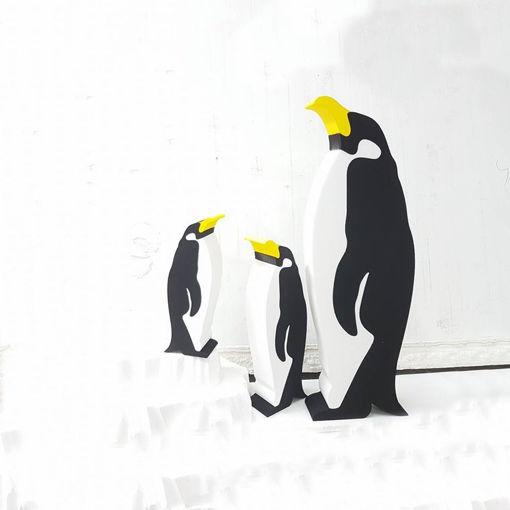 Immagine di Set Pinguini Puzzle con Ghiaccio in Polistirolo