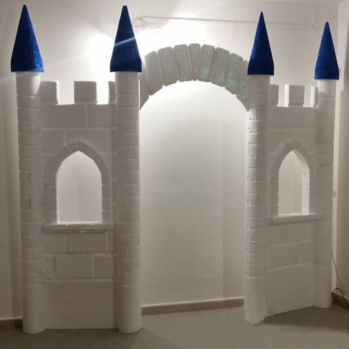 Immagine di Castello in Polistirolo Verniciato