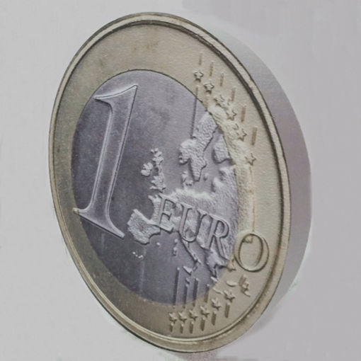 Immagine di Moneta da 1 Euro in Polistirolo