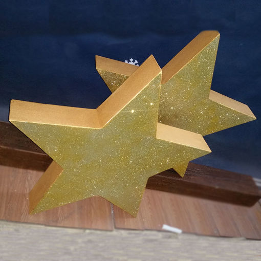 Immagine di Stelle in Polistirolo Glitterate