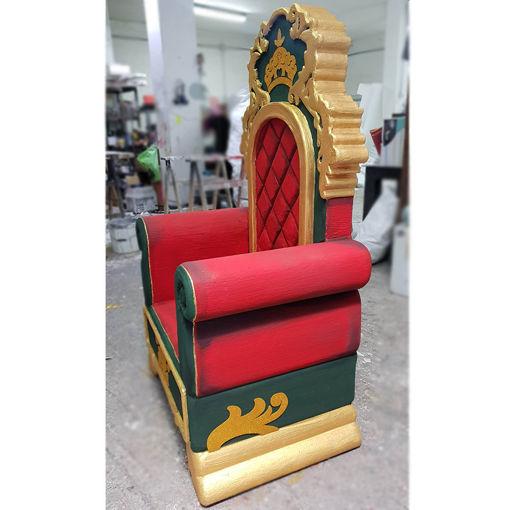Immagine di Trono di Babbo Natale in Polistirolo
