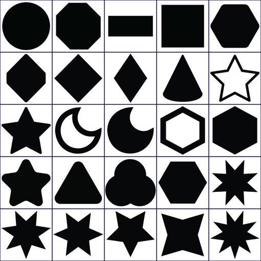 Immagine di Forme Geometriche in Polistirolo