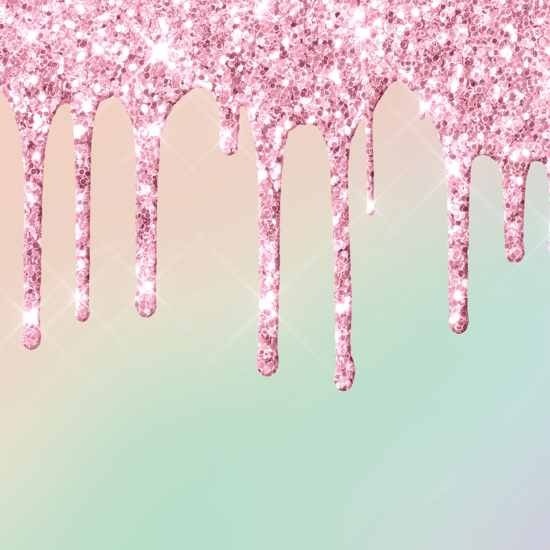 Glitter Drip 08