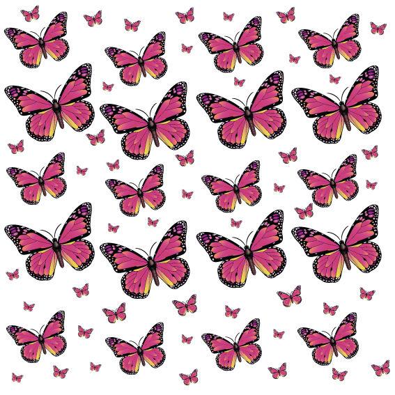 Farfalle Fucsia