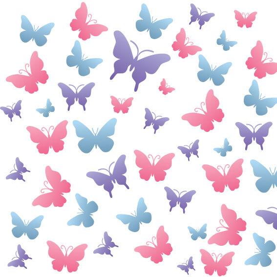 Farfalle Colorate 4