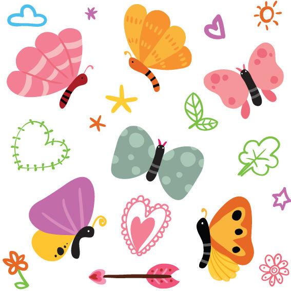 Farfalle Colorate 5