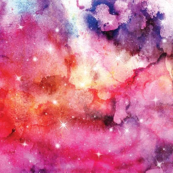 Pink Galaxy Paper 6