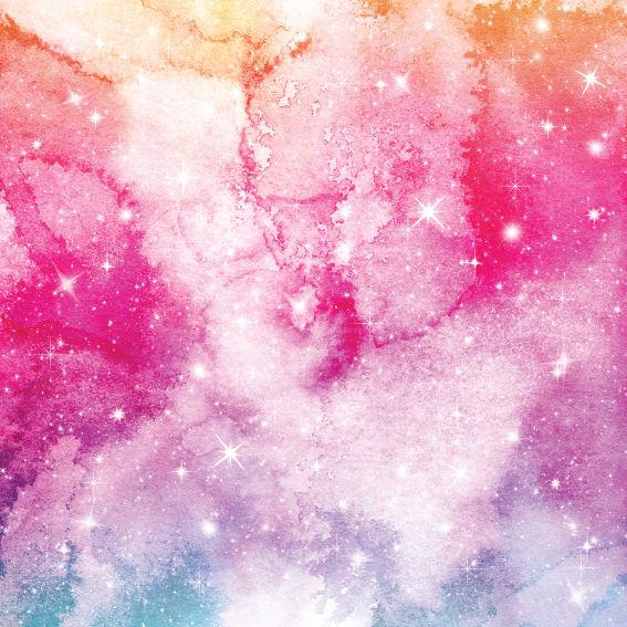 Pink Galaxy Paper 9